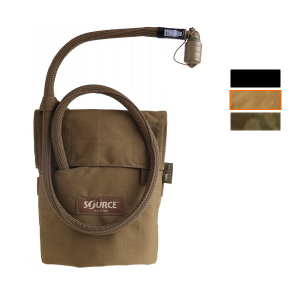 Source Kangaroo 1L Collapsible Canteen met Pouch