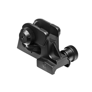 NcStar AR-15 Rear A2 Back-up Iron Sight Staal
