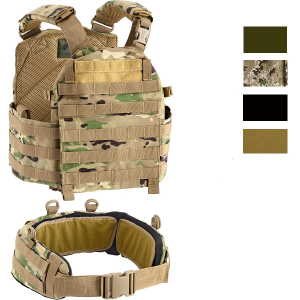 Defcon 5 Vest Carrier With Belt