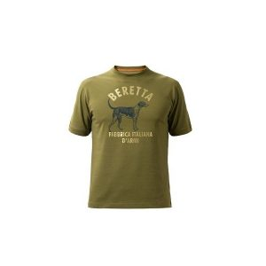 Beretta Dog T-Shirt Groen