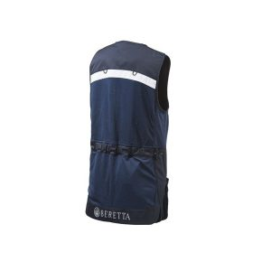 Beretta M's Stretch Shooting Vest Navy achterkant