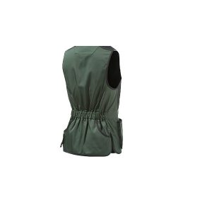 Beretta Trap Cotton Vest - Black Forest & CoffeeBeen achterkant