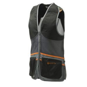 Beretta Full Mesh Vest Black&Gray