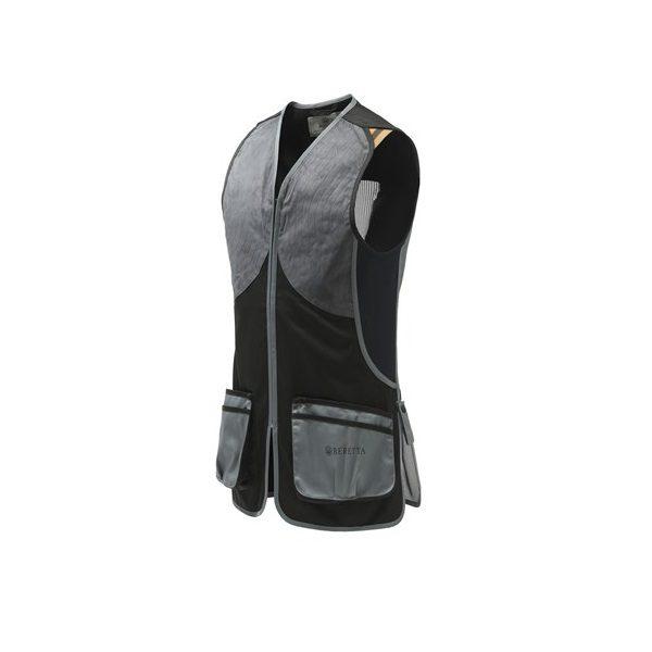 Beretta DT11 Microsuede Slide Vest Black & Gray