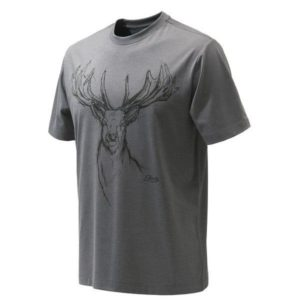 Beretta Deer T-Shirt Grijs