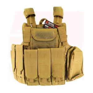 NUPROL TACTICAL VEST RTG Tan