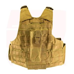 NUPROL TACTICAL VEST RTG Tan back