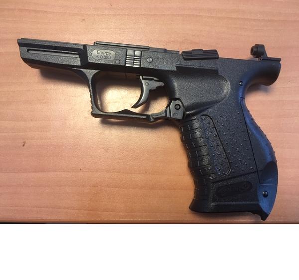 Reserve kolf met trekker voor Walther P99 Kids