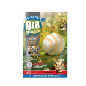 G&G BIO BB ALUMINIUM 0.33G 2000 stuks