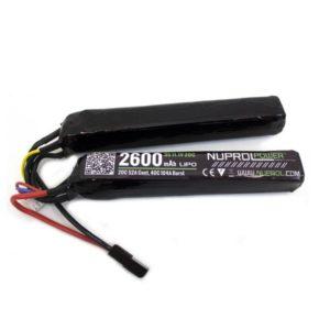 NUPROL 11.1v 2600mAh 20c Nunchuck LiPo Battery