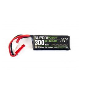 NUPROL BATTERY 300mAh 7.4V 35C HPA Micro