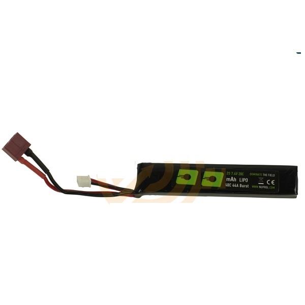 NUPROL Battery 1100 mAh, 11.1 Volt 20C Stick Dean